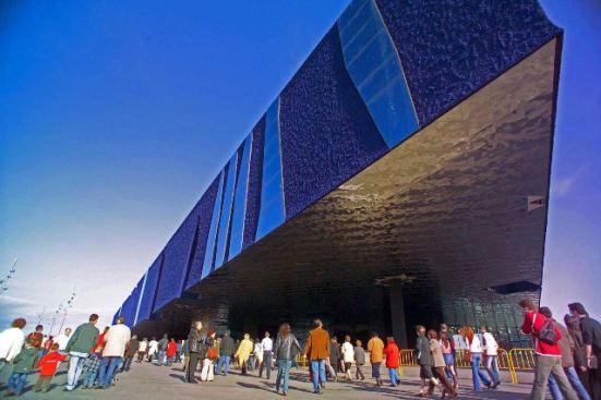 Edificio del Fòrum, en Barcelona