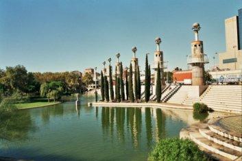 Parque de la Espanya Industrial, uno de los más emblemáticos de Barcelona