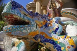parque-Guell-Barcelona-lagarto