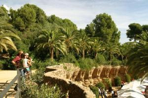 El parque Güell de Barcelona es quizá el más turístico de la ciudad, y uno de los más visitados de España.