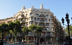 La Pedrera, edificio creado por Antoni Gaudi