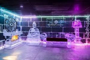 Ice Barcelona, el primer bar de hielo en la playa