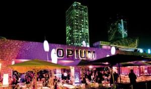 Exterior de la discoteca Opium