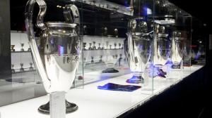 trofeos que se pueden ver en el museo del FC Barcelona