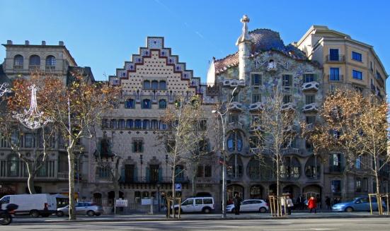 Manzana de la discordia en Barcelona, Casa Ametller y Casa Batlló