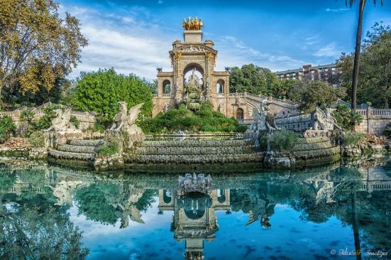 Fuente del parque de la Ciutadela