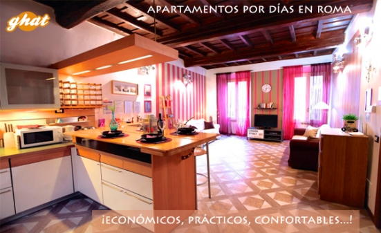 enlace apartamentos turisticos por dias roma
