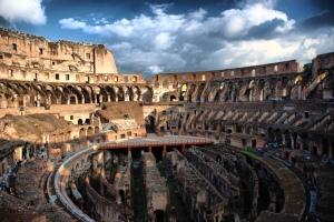 Interior Coliseo Romano