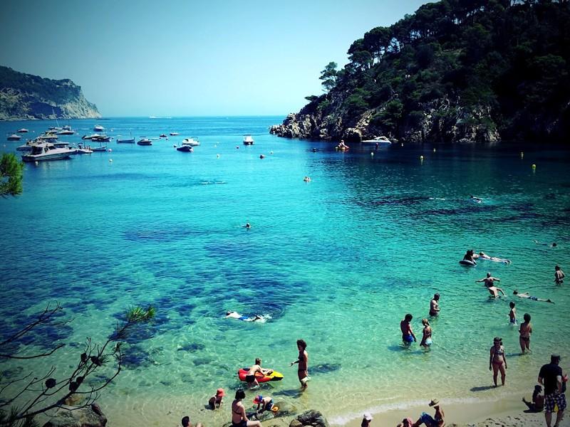 las mejores playas de barcelona espana