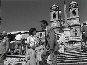 Plaza-España Roma Audrey Hepburn