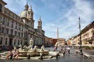 Plaza-Navona-en-Roma
